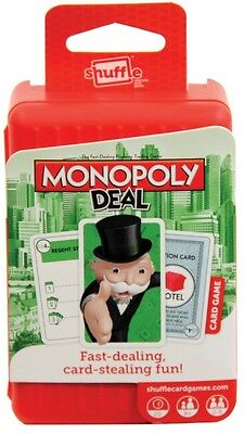 NEW Shuffle Monopoly Deal Card Game from Mr Toys