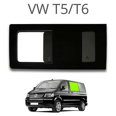 Left opening window (privacy) for VW T5 / T6 - EUROPEAN LEFT HAND DRIVE Not a sl