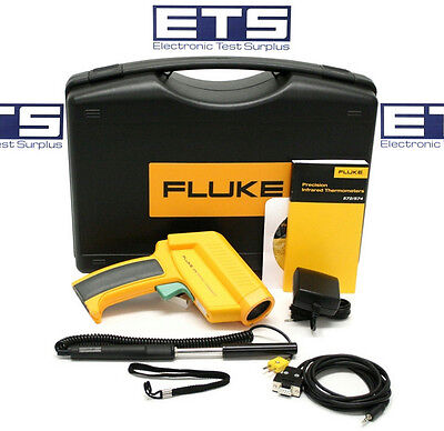 Fluke 574 Non Contact Infrared IR Thermometer