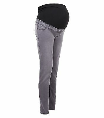 Maternity New Look Jeggings Jeans Over The Bump Grey Sizes 8 10 12 14 16 18 20