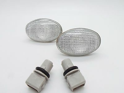 Ford Clear Oval Side Repeaters Indicators Fiesta Ka Mondeo Transit