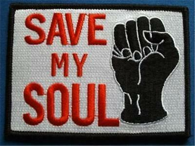 Northern Soul Patch - Save My Soul - Black Fist