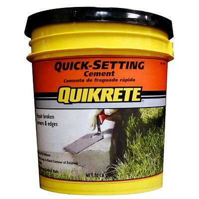 Quick-Setting Cement Mix Concrete Brick Repair Patch Cracks Holes 20 lb.