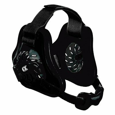 Cliff Keen F3 Adult Twister Wrestling Headgear/Earguard - Black/Black/Black