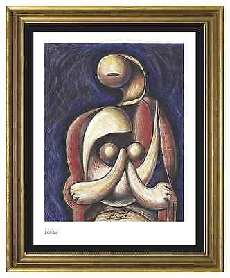 "Pablo Picasso Signed/Hand-Numbered Ltd Ed ""Woman Red Armchair "" Print (unframed)"