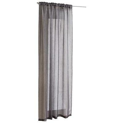 Gorgeous Steel Grey Sparkle Silver Glitter Voile Net Curtain Panel  Free Postage
