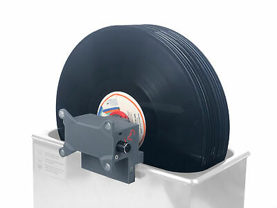 CleanerVinyl Pro: Ultrasonic Vinyl Record Cleaner for up to 12 Records