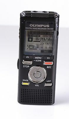 CLEARANCE Olympus WS-833 Digital Voice Recorder 8GB Audio Notetaker #675262