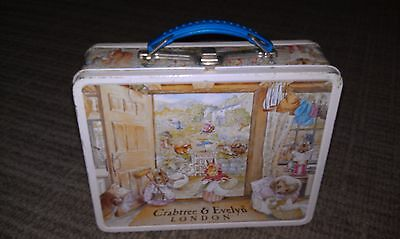 Vintage 1985 CRABTREE & EVELYN French LUNCHBOX