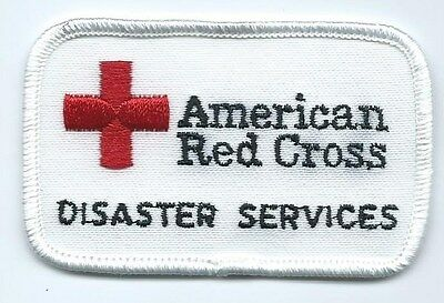 American Red Cross Disaster services patch 2 X 3-1/4 in #575
