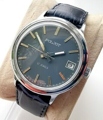 New Old Stock Raketa Russian Ussr Watch 2614 H With Box And Documents