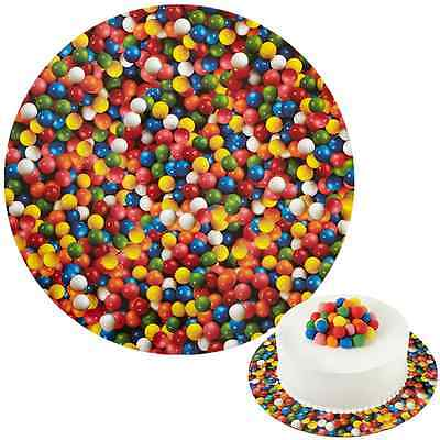 Wilton Round Cake Board - Gumballs - 12 inch - Cardboard set of 3
