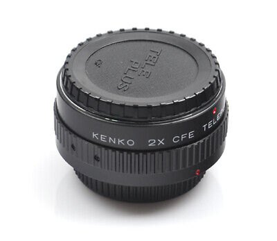 Kenko Tele Converter Lens 2x MC4 Canon FD Mount AE-1 FTB AT-1 AE-1 Program
