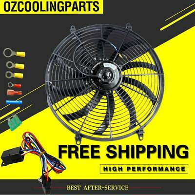 """BEAND NEW FOR 10"""" inch 12V volt Electric Cooling Fan Thermo Fan +Mounting kits"""