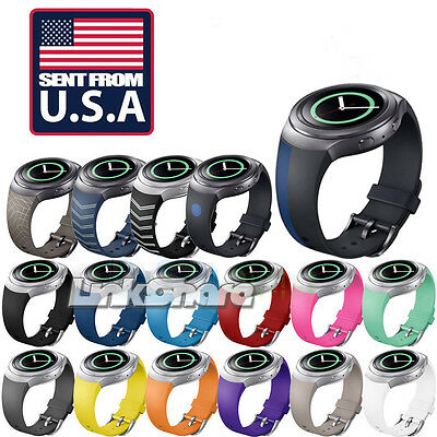 TX Silicone Watchband Band for Samsung Gear S2 SM-R720 Version Wristband Strap t