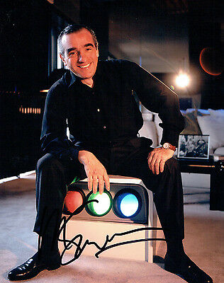 Martin SCORSESE RARE SIGNED Autograph 10x8 Photo AFTAL COA Film Director