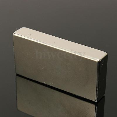 N52 Industry Strong Rare Earth Magnets NdFeB Neodymium Block 50 x 25 x 10mm