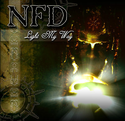 "NFD 'Light My Way' /'Senseless' goth rock 7"" new unplayed Fields of the Nephilim"