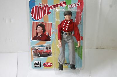 The Monkees Micky Dolenz Red Band Suit; 8 INCH ACTION FIGURE  new  FTC LICENSED