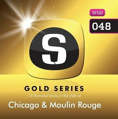 Sunfly Karaoke Gold Series Volume 48 Chicago And Moulin Rouge CD+G New Sealed