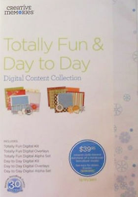 Creative Memories Digital Content CD Collection Totally Fun & Day to Day
