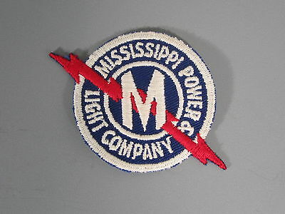 Mississippi Power & Light Company Patch / New Old Stock  / FREE Ship