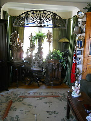 "VICTORIAN INTERIOR FRETWORK GINGERBREAD  circa 1880  71"" X 22.5"" ORIGINAL FINISH"