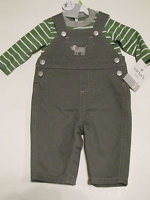 1442341c0 INFANT BABY BOY Carters Little Collections 3 Piece Set pants hooded ...