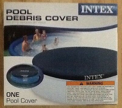 Intex 8ft Foot Easy Set Swimming Pool Debris Cover with 12 Inch Overhang