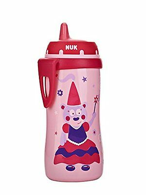 NUK Hard Spout Active Cup in Pink, 10-Ounce
