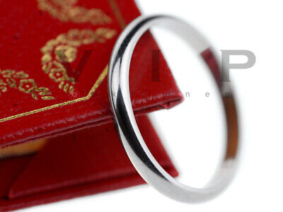 Cartier La Bague Alliance Ring 950.platin Trauring Ehering Wedding Band Platinum