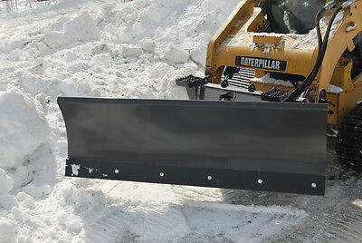 "FFC Skid Steer Snow Blade Attachment - 72"" - Hydraulic Angle"