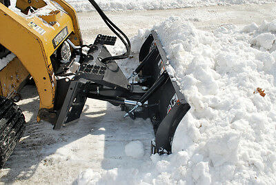 "Hydraulic Angle Snow Blade Attachment for Skid Steer -96""- FFC"