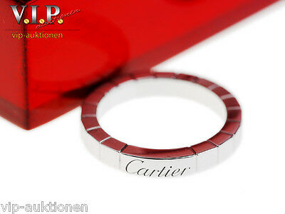 Cartier La Bague Lanieres Ring 950 Platin Trauring Ehering Wedding Band Platinum