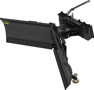 Skid Steer V-Plow Snow Plow Attachment - 72"