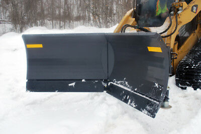 Skid Steer V-Plow Snow Plow Attachment - 108"