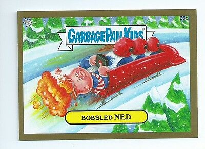 2014 Garbage Pail Kids brand new series  BNS1 GOLD lot 26 of 132