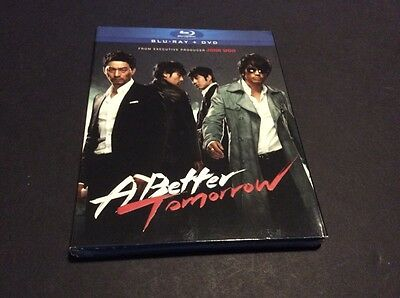 A Better Tomorrow (Blu-ray/DVD, With Slipcover, 2011, 2-Disc Set)excellent