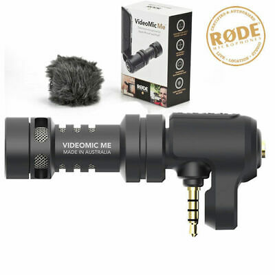 Rode VideoMic Me Directional Microphone for iPhone Smart Phone iPad Video Mic