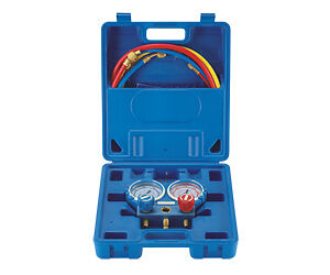 Refrigeration Air Conditioning Double Manifold Gauge Set