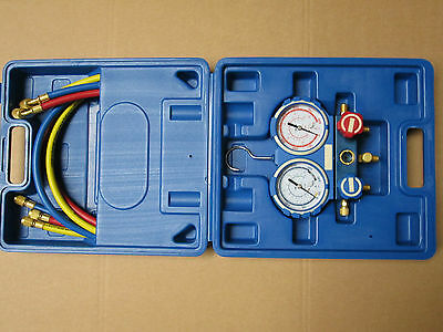 Refrigeration Air Conditioning Double Manifold Gauge Set R410A