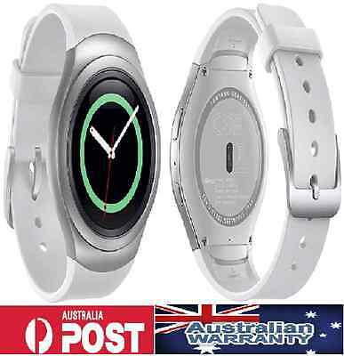 As New Condition Samsung Galaxy Gear S2 White Smart Watch Unlocked