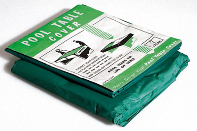 Pool Table Dust Cover - 6ft and 7ft Table Sizes - Elasticated Corners - Free Del