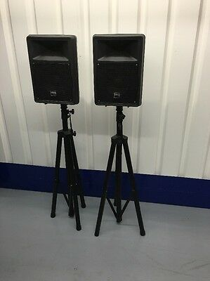 IMG stage line PAK-108MK2 Pair Off Speakers With Stands