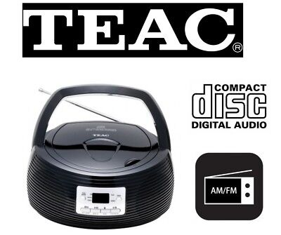 Teac Portable Stereo w/ AM/FM Radio / CD Player / LED display PCD250B