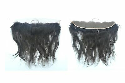 7A Brazilian Lace Frontal Closure Straight Hair Lace Top Closure Ear To Ear 13*2