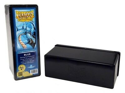 Dragon Shield - 4 Compartment Storage Box Blue - Karten Box