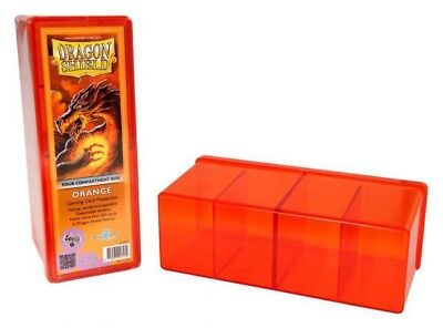 Dragon Shield - 4 Compartment Storage Box Orange - Karten Box