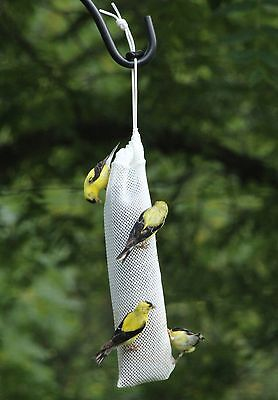 "Kettle Moraine 11"" Small Nyjer Thistle Seed Sock Sack Bird Feeder Heavy Mesh"