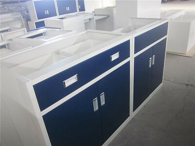 Laboratory Furniture, Cabinet, Benches, Brand New ( Navy Color)